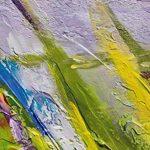 100% TRAVAIL FAIT À LA MAIN + certificat   115x50 cm   Le tableau est dessiné par les couleurs acryliques   Vallée des désirs   tableaux sur la toile avec sous-cadre en bois naturel   tableau fait à la main   fixation murale pratique   Art contemporain de image 2 produit