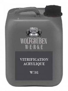 10L - W701 - VITRIFICATION ACRYLIQUE resistant aux plastifiants   Type: Wolfgruben Werke (WO-WE)   comme protection supplémentaire pour la peinture de sol W700 Peinture de la marque Wowe image 0 produit