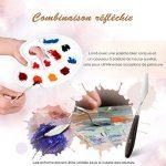 【12Pinceaux + 1Palette + 1Couteau】LiSmile Ensemble de Pinceau de Peinture de 12 Tailles Différentes avec une Palette et un Couteau à Palette pour Peinture à l'huile/Aquarelle/Gouache de la marque LiSmile image 3 produit