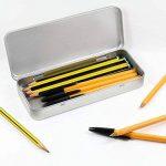 180mm x 75mm 'Tube de Peinture' boîte de papeterie métal / boîte de rangement (TT00033062) de la marque Azeeda image 1 produit