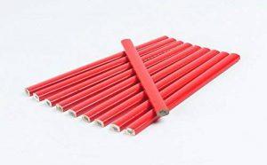 20Crayons de charpentier 175mm rouge ovale de la marque Goodway image 0 produit