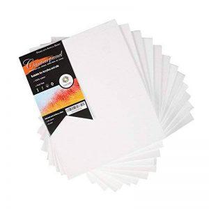 """20cm x 25cm (8"""" x 10"""") CONDA Panneau de toile de 3 mm, paquet de 10 de la marque Conda image 0 produit"""