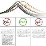 3D Stylo Fils Filament PLA 16PCS, moonlux PLA Filament Imprimante 3D Filament Longeur Totale 97.6M/320ft Diamètre de 1.75MM Pour Stylo à l'impression 3D de la marque moonlux image 2 produit