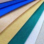 48pcs Feutre acrylique Tissu non tissé pas doux Diy Artisanat Travail Patchwork Couture Couleur mélangée 1 mm Tissu épais (30cm x30cm) de la marque SuperHandwerk image 5 produit