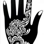 6 Feuilles Mehndi Tatouage Pochoir pour la main Hand 6 Mehndi Tatouages au henné Set 4 à usage unique - pour tatouage au henné, tatouage paillettes et aérographe tatouage de la marque Beyond Paradise image 1 produit