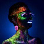 [6 x 30 ml.] iLC Peinture Corporelle UV Maquillage Coloré Fluo Néon Kit Pour Lumière Noire de la marque iLC image 4 produit