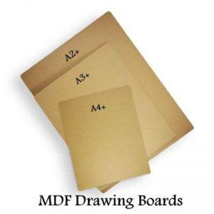 A2 MDF artiste 9 planches à dessin esquisse lisse anti-déformation-Lot de 1 de la marque West Design image 0 produit