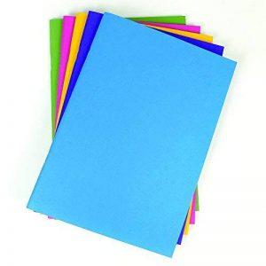 A3Bleu vif Housse souple Portrait Croquis Papier Cartouche Esquisse Blanc 20feuilles de la marque My Colour Palette image 0 produit
