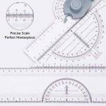 A3 Planche à Dessin, Preciva Drawing Board Metric System 51 x 36.5 cm Table à Dessin avec Mouvement Parallèle, Angle Réglable de la marque Preciva image 1 produit