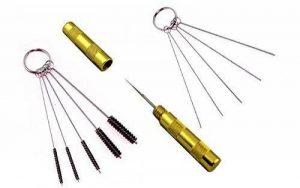 Abest Kit de 3accessoires de rechange pour le nettoyage d'aérographe - brosses et aiguilles en acier inoxydable de la marque BESTA image 0 produit