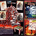 "'Airbrush parfaite pochoirs Skulls facile: ""BLOOD Candy aka Field of Skulls VOL. 03, dimensions env. A4, Single/Quick Step EZ skullmaker artshield® de la marque SCHNEIDMEISTER image 1 produit"