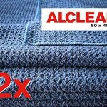 ALCLEAR 820901_2 Chiffon Microfibre Ultra Merveille du Séchage, Bleu Marine, 60x40 cm, Lot de 2 de la marque ALCLEAR image 1 produit