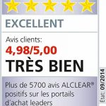 ALCLEAR 820901_2 Chiffon Microfibre Ultra Merveille du Séchage, Bleu Marine, 60x40 cm, Lot de 2 de la marque ALCLEAR image 4 produit