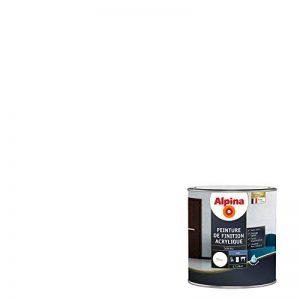 ALPINA Peinture de finition - Acrylique - Mat Blanc 0,5L 6m² de la marque Alpina image 0 produit