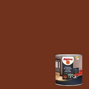 ALPINA Peinture de finition - Alkyde émulsion - Satin Ton Bois 0,5L 6m² de la marque Alpina image 0 produit