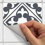 Ambiance-Live Carreaux de ciment adhésif mural - azulejos - 20 x 20 cm - 15 pièces de la marque Ambiance-Live image 2 produit