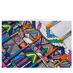 Amoyie trousse à crayon enroulable pour pinceaux de peinture, sacs organiseurs de toile, enveloppe de crayon porte-brosses pochettes rouleaux de la marque Amoyie image 3 produit