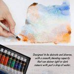 Aquarelle Set de peinture par Crafts 4Tous les 12Premium Qualité Art Kit de peinture à l'aquarelle pour artistes, les étudiants et les débutants–Idéal pour portrait et paysage peintures sur toile de la marque Crafts 4 ALL® image 3 produit