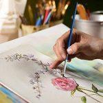 Aquarelle Set de peinture par Crafts 4Tous les 12Premium Qualité Art Kit de peinture à l'aquarelle pour artistes, les étudiants et les débutants–Idéal pour portrait et paysage peintures sur toile de la marque Crafts 4 ALL® image 6 produit