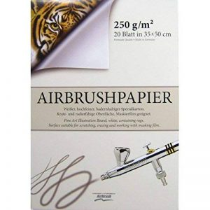 Aérographe Bloc de 500x 350mm 170103haute qualité pour aérographe Papier de la marque HARDER STEENBECK image 0 produit