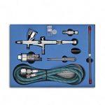 Aérographe,GANZTON SP180K 0.2mm / 0.3mm / 0.5mm Aérographe Professionnel Double-action Trigger Contrôle Airbrush pour Art et Artisanat Projets Tatouage Modèle-chemin de fer de la marque GaGa MILANO image 1 produit