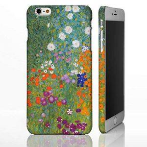 Art collection classique pour la gamme Iphone. Peinture Célèbre Artiste Coques, plastique, Bauerngarten & Sonnenblumen - Gustav Klimt, iPhone 5/5S de la marque iCaseDesigner image 0 produit