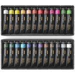 ARTEZA Ensemble Peinture Gouache Haut de Gamme pour Artiste - 24 Tubes Couleurs (24 x 12 ml) de la marque ARTEZA® image 1 produit