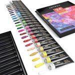 ARTEZA Ensemble Peinture Gouache Haut de Gamme pour Artiste - 24 Tubes Couleurs (24 x 12 ml) de la marque ARTEZA® image 2 produit
