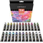 ARTEZA Ensemble Peinture Gouache Haut de Gamme pour Artiste - 24 Tubes Couleurs (24 x 12 ml) de la marque ARTEZA® image 3 produit