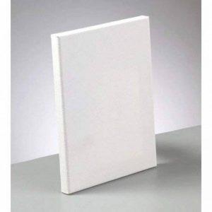 Artif Châssis entoilé rectangulaire de 18x24cm, Epaisseur de la Toile à Peindre 1,7cm, en Coton Enduit Blanc de la marque Artif image 0 produit