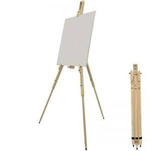 Artina Chevalet de campagne Malaga - Prêt à l'emploi - pliable Léger et facile à transporter - En Bois de Pin - Hauteur : 180cm de la marque Artina image 0 produit