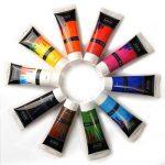 Artina crylic Peinture acrylique pour artistes Fortement pigmentées Lot de 10 tubes de peinture acrylique de 120ml de la marque Artina image 1 produit