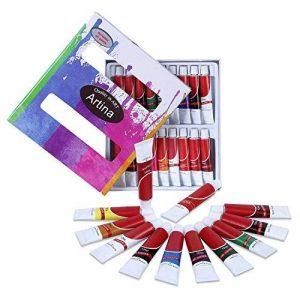 Artina - Lot de 18 tubes peinture à l'huile de 12ml pour artistes Fortement pigmentées - Idéal pour les loisirs et les peintres professionnels de la marque Artina image 0 produit