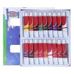 Artina - Lot de 18 tubes peinture à l'huile de 12ml pour artistes Fortement pigmentées - Idéal pour les loisirs et les peintres professionnels de la marque Artina image 3 produit