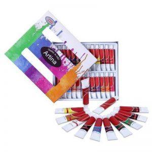 Artina Lot de 24 tubes peinture à l'huile de 12ml pour artistes Fortement pigmentées - Idéal pour les loisirs et les peintres professionnels de la marque Artina image 0 produit