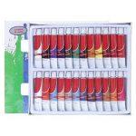 Artina Lot de 24 tubes peinture à l'huile de 12ml pour artistes Fortement pigmentées - Idéal pour les loisirs et les peintres professionnels de la marque Artina image 2 produit