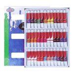 Artina - Lot de 36 tubes peinture à l'huile de 12ml pour artistes Fortement pigmentées - Idéal pour les loisirs et les peintres professionnels de la marque Artina image 3 produit