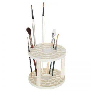 Artina - Porte pinceaux crayons et accessoires - Coloris: crème - Ø 14,5cm - Pour 49 pinceaux et crayons de la marque Artina image 0 produit