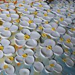 Asdam Art-élégante fleur blanche de tableaux sur toile 100% peints à la main peintures à l'huile abstrait mur de l'art de salon, chambre, salle à manger, la décoration d'intérieur(20X40 inch) de la marque Asdam Art image 3 produit