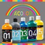 Assortiment de A Color Peinture acrylique Couleurs primaires de mat 32132de Creativ Company–École Assortiment de couleur pour peinture acrylique et pour acrylique Photos. 6x 500ml de la marque A-Color image 1 produit