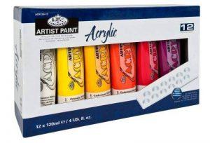 assortiment peinture acrylique TOP 6 image 0 produit
