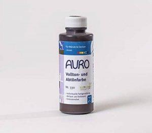 Auro - Colorant pour Peinture Murale (teinte brun Oxyde) 0.5 l - N° 330-81 de la marque Auro image 0 produit