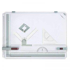 Beautytalk Planche à dessin A3 Drawing Board 51 x 36.5 cm Table à Dessin avec Mouvement Parallèle(Entrepôt de l'UE) de la marque Beautytalk image 0 produit