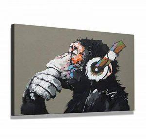 bestpricepictures 80 x 60 cm impression sur toile le singe 4002-SCT - peinture/image/tableau/decoration sur châssis de la marque bestpricepictures image 0 produit