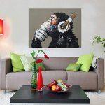 bestpricepictures 80 x 60 cm impression sur toile le singe 4002-SCT - peinture/image/tableau/decoration sur châssis de la marque bestpricepictures image 2 produit