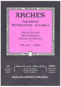 bloc aquarelle arches TOP 14 image 0 produit