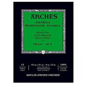 bloc aquarelle arches TOP 6 image 0 produit