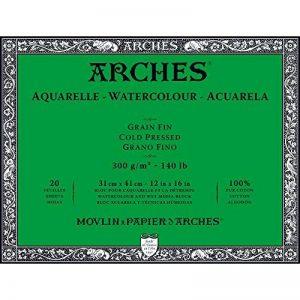 bloc aquarelle arches TOP 9 image 0 produit