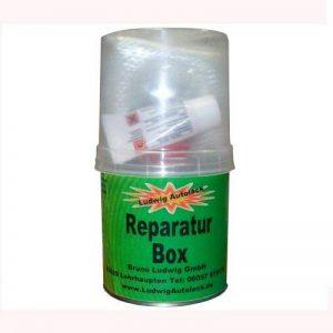 Boîte de 250g pour réparation de tapis en fibre de verre et résine avec durcisseur de la marque Ludwig Lacke image 0 produit