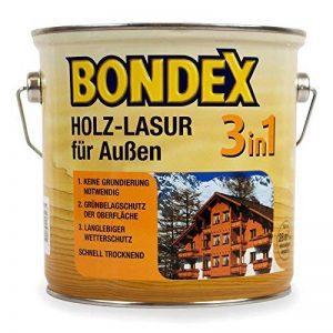 Bondex lasure pour bois extérieur pour 3 en 1 0,75 l (châtaigne de la marque Bondex image 0 produit